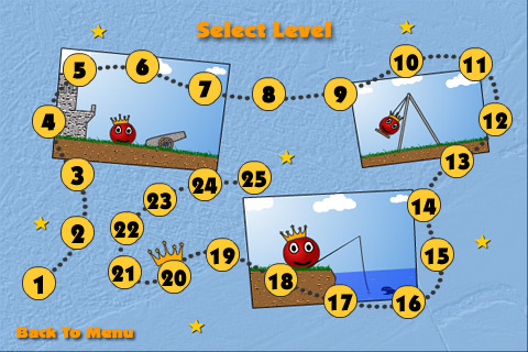 red ball levels